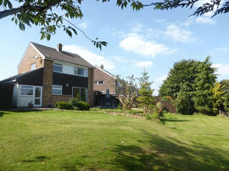 4 Bedrooms Detached House for sale in Whitstone Rise, Shepton Mallet