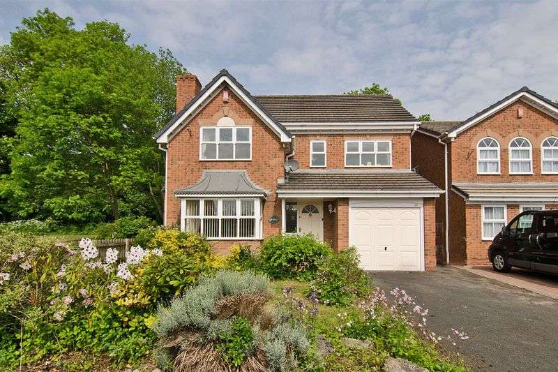 4 Bedrooms Detached House for sale in Keble Grove, Broadway Court, Walsall