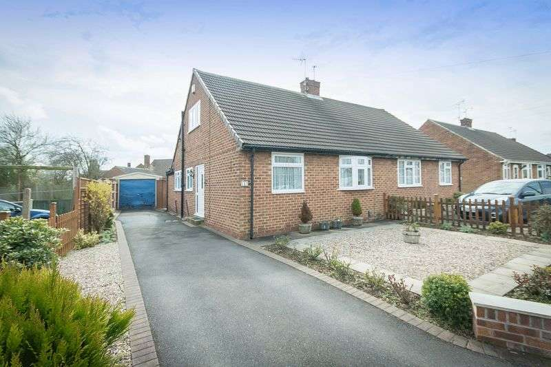 2 Bedrooms Semi Detached Bungalow for sale in CHESTNUT AVENUE, MICKLEOVER