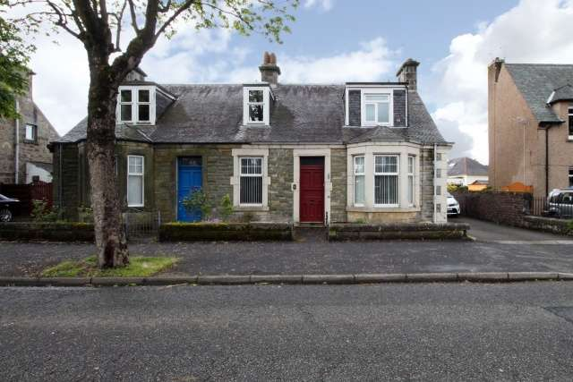 4 Bedrooms Semi Detached House for sale in Tullibody Road, Alloa, Clackmannanshire, FK10 2LY