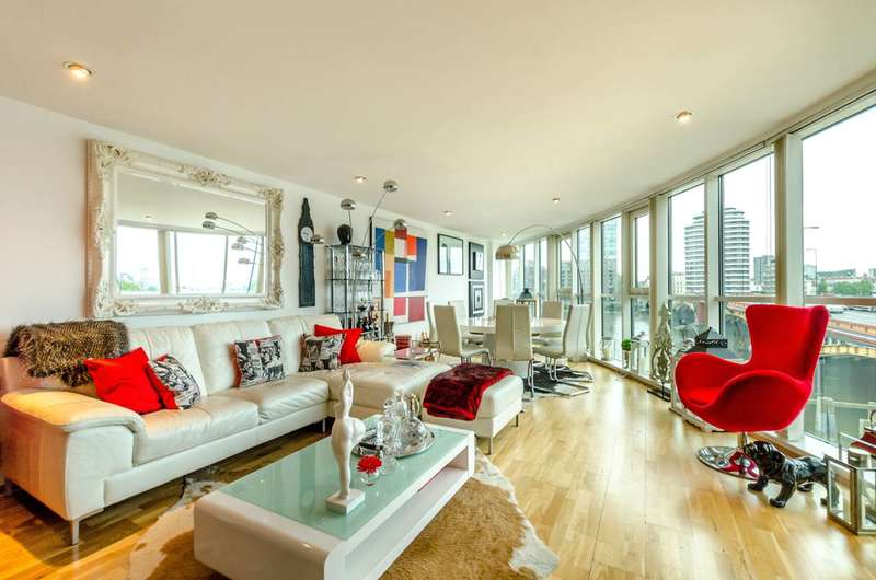 3 Bedrooms Flat for sale in St George Wharf, Vauxhall, SW8