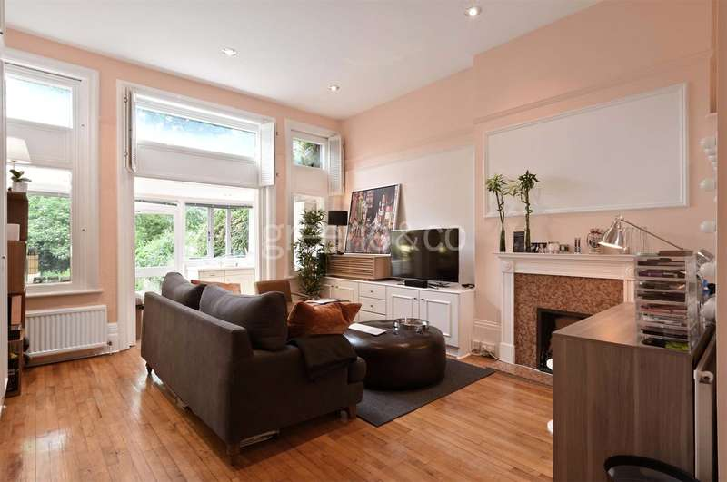 Flat for sale in Greencroft Gardens, South Hampstead, London, NW6