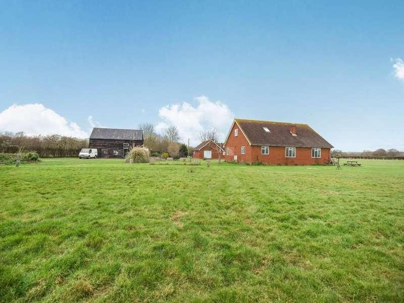 4 Bedrooms Detached House for sale in Branbridges Road, Paddock Wood, TN12