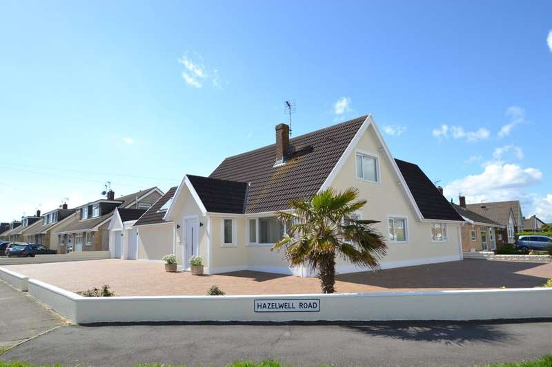 5 Bedrooms Detached Bungalow for sale in 93 Fulmar Road, Porthcawl, Bridgend County Borough, CF36 3PW.