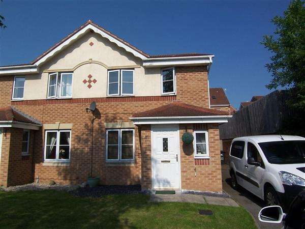 3 Bedrooms Semi Detached House for sale in Crown Way, Langley Mill