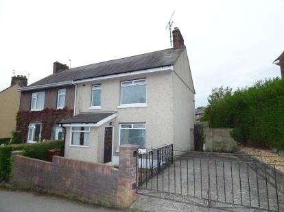 3 Bedrooms Semi Detached House for sale in Tan Y Mynydd, Bangor, Gwynedd, LL57