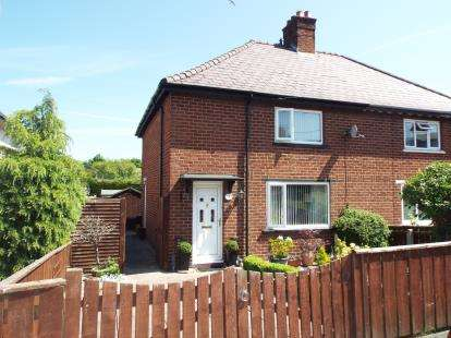 3 Bedrooms Semi Detached House for sale in Canol Y Dre, Ruthin, Denbighshire, LL15