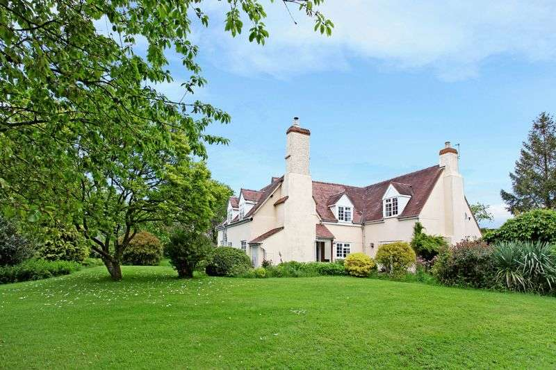 4 Bedrooms Detached House for sale in near Dymock, 17 acres