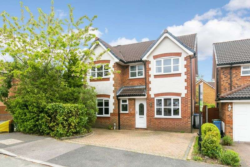 4 Bedrooms Detached House for sale in Copeland Drive, Standish, WN6 0XR