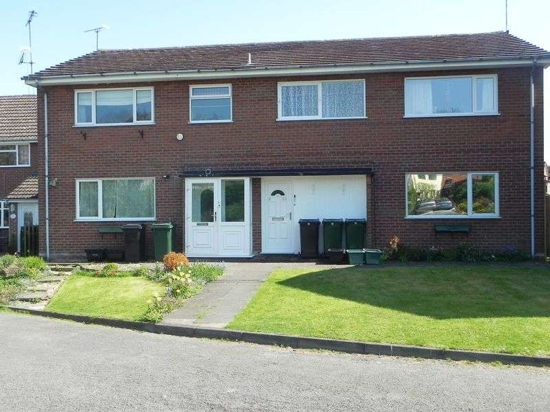 1 Bedroom Flat for sale in Rockley Bank, Cleobury Mortimer DY!4 9AP