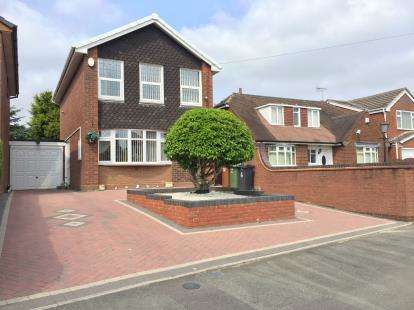 3 Bedrooms Detached House for sale in Mill Lane, Willenhall, West Midlands