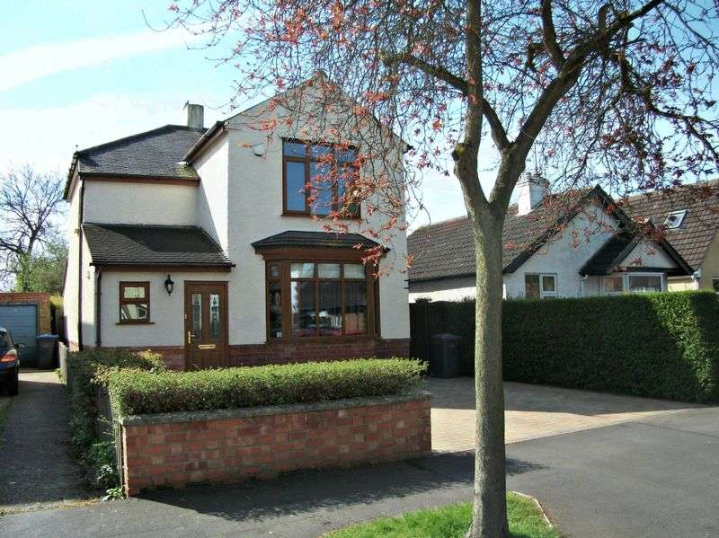 3 Bedrooms Detached House for sale in Sidney Road, Rugby, Warwickshire, CV22 5LD