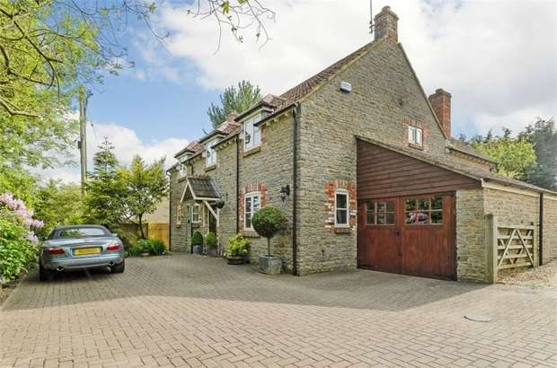 4 Bedrooms Detached House for sale in Church Track, Bourton, Gillingham, Dorset
