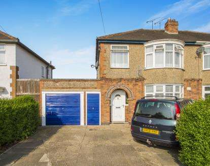 3 Bedrooms Semi Detached House for sale in Kenilworth Road, Fairfield Estate, Wigston, Leicester