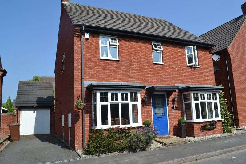 4 Bedrooms Detached House for sale in Excelsior Drive, Swadlincote