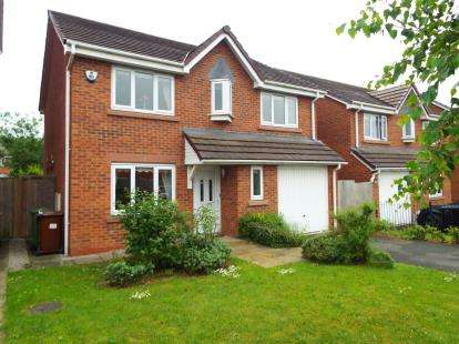 4 Bedrooms Detached House for sale in Old Elton Head Road, St. Helens, Merseyside, WA9