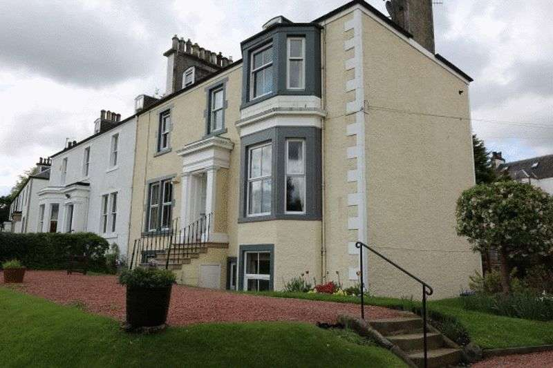 2 Bedrooms Flat for sale in Oakworth Garden Flat , Springhill Road, Peebles