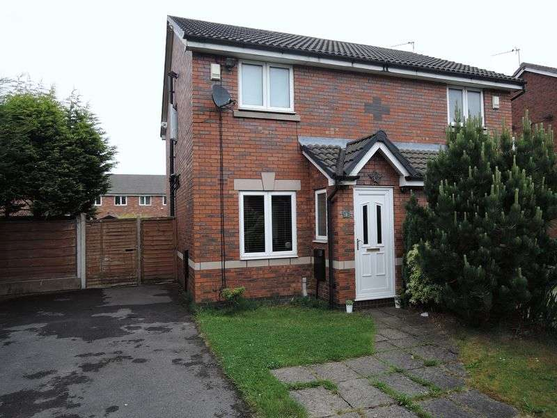 2 Bedrooms Semi Detached House for sale in Hockenhull Close, Peel Hall