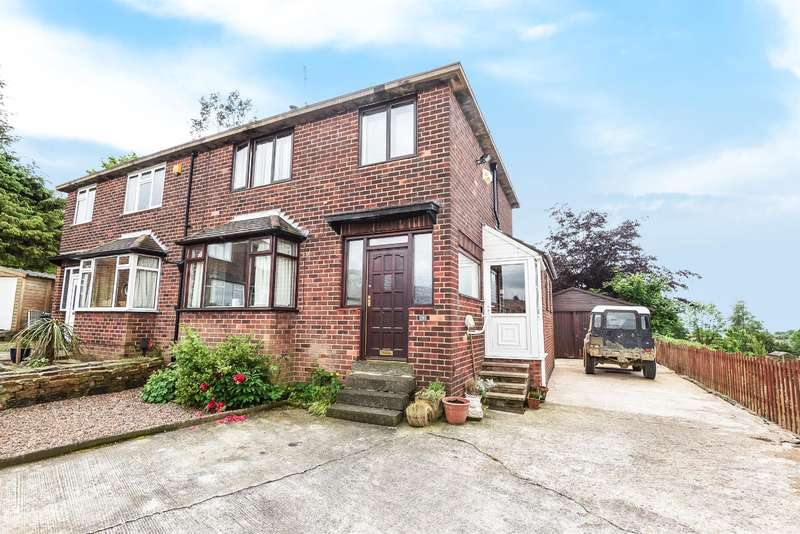3 Bedrooms Semi Detached House for sale in Invertrees Avenue, Rawdon, Leeds, LS19 6EP