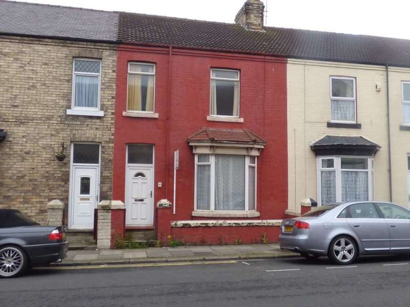 4 Bedrooms Terraced House for sale in Turner Street, Redcar