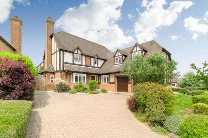 5 Bedrooms Detached House for sale in Holy Thorn Lane, Shenley Church End, Milton Keynes, Buckinghamshire