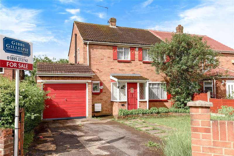 3 Bedrooms Semi Detached House for sale in Larch Crescent, Hayes, Middlesex, UB4