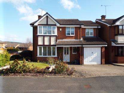 5 Bedrooms Detached House for sale in St. Andrew Close, Hednesford, Cannock, Staffordshire