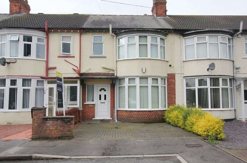 3 Bedrooms Terraced House for sale in Lake View, Hull