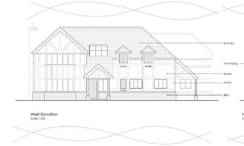 5 Bedrooms Land Commercial for sale in PLOT 1 Bank Lane, Hildenborough