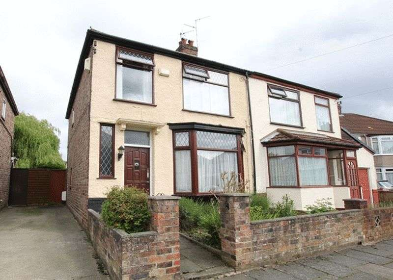 3 Bedrooms Semi Detached House for sale in Stratford Road, Grassendale, Liverpool, L19