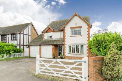 5 Bedrooms Detached House for sale in Great Portway, Great Denham, Bedford, Bedfordshire