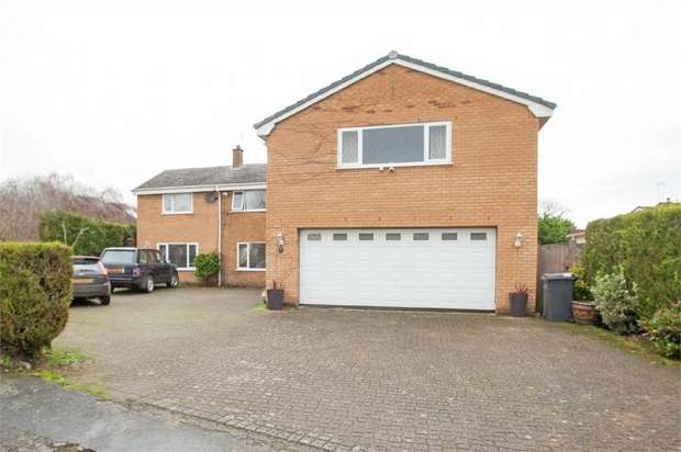 5 Bedrooms Detached House for sale in Willow Lane, Goostrey, Crewe, Cheshire