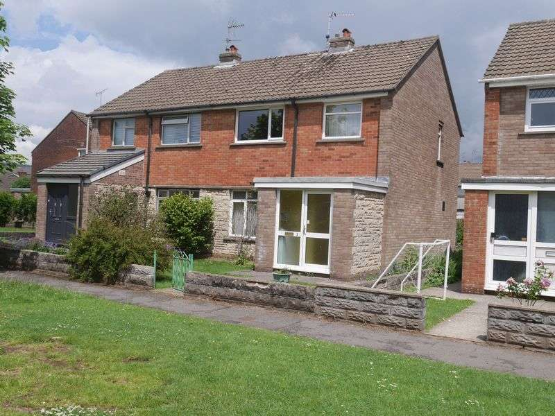 3 Bedrooms Semi Detached House for sale in Bro-Dawel Close, Pontyclun, CF72 9BN