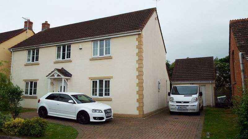 4 Bedrooms Detached House for sale in The Orchards, Glastonbury