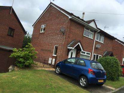 2 Bedrooms Semi Detached House for sale in Smelt Lane, Coedpoeth, Wrexham, Wrecsam, LL11