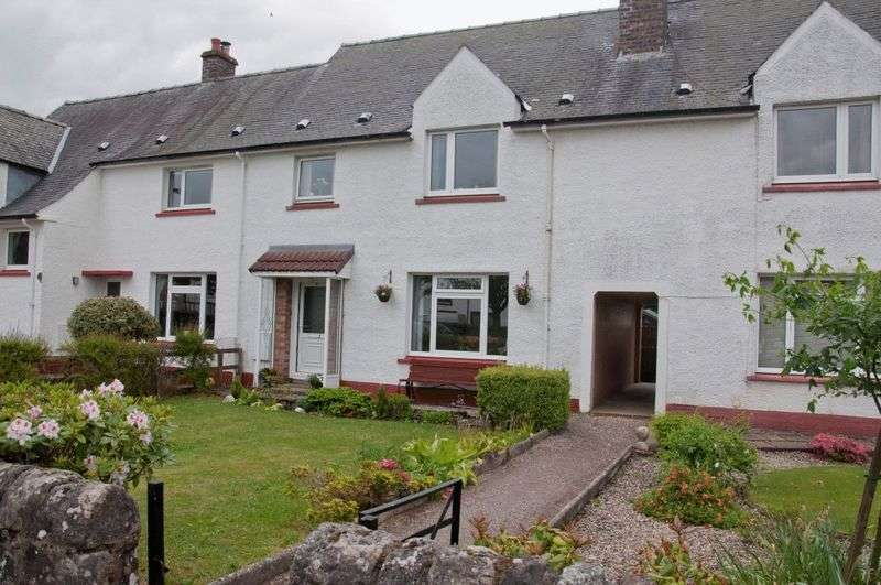 3 Bedrooms Terraced House for sale in 11 Gentle Croft, Braco, Dunblane