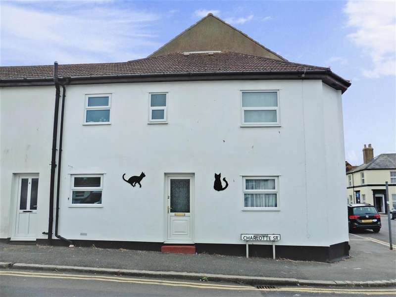 1 Bedroom End Of Terrace House for sale in Charlotte Street, Folkestone, Kent