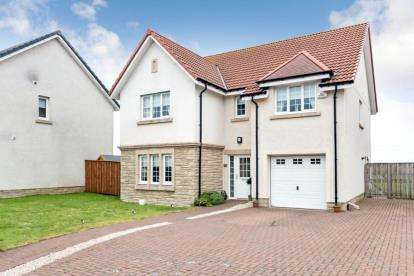 5 Bedrooms Detached House for sale in Harris Grove, East Kilbride, Glasgow, South Lanarkshire