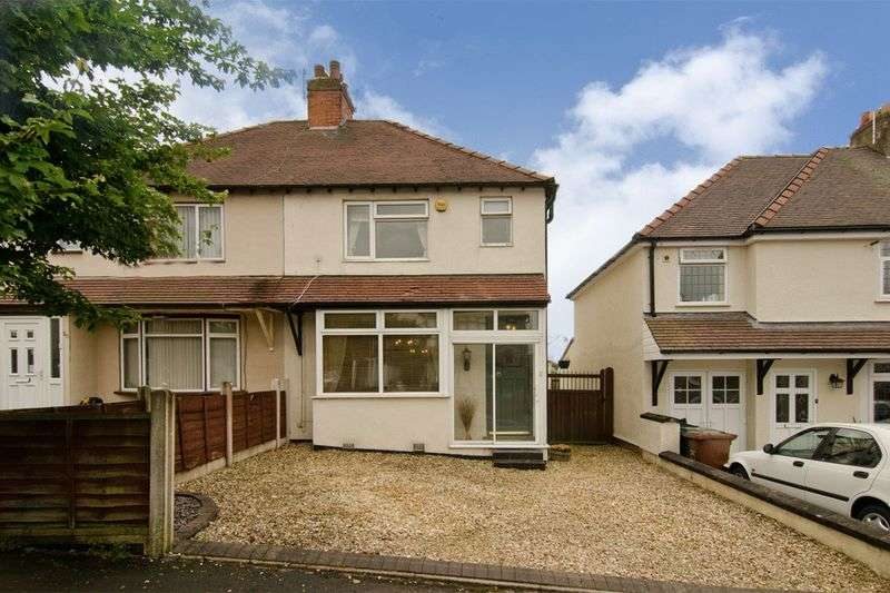 3 Bedrooms Semi Detached House for sale in Westbourne Avenue, Cannock