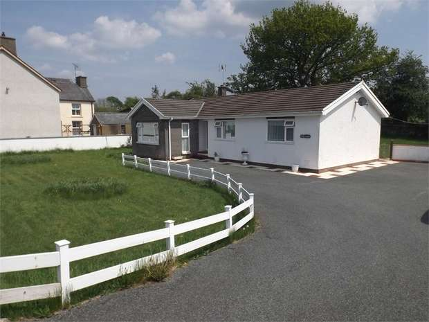 3 Bedrooms Detached Bungalow for sale in Perth Gwyn, Cellan, Lampeter, Ceredigion