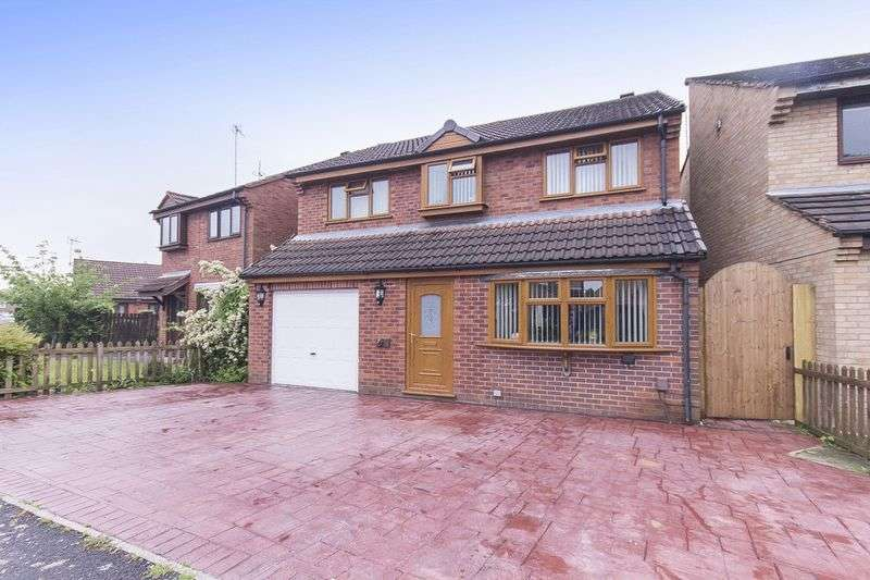 4 Bedrooms Detached House for sale in GLASTONBURY ROAD, ALVASTON