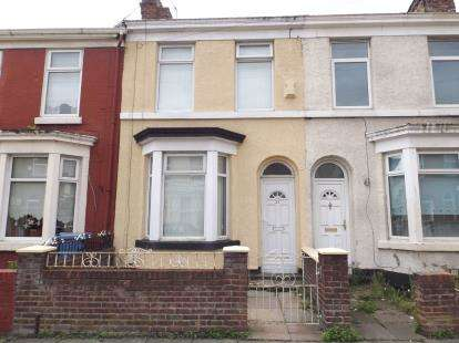 2 Bedrooms Terraced House for sale in Ruskin Street, Kirkdale, Liverpool, Merseyside, L4