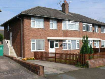 2 Bedrooms Flat for sale in Queens Drive, Nantwich, Cheshire