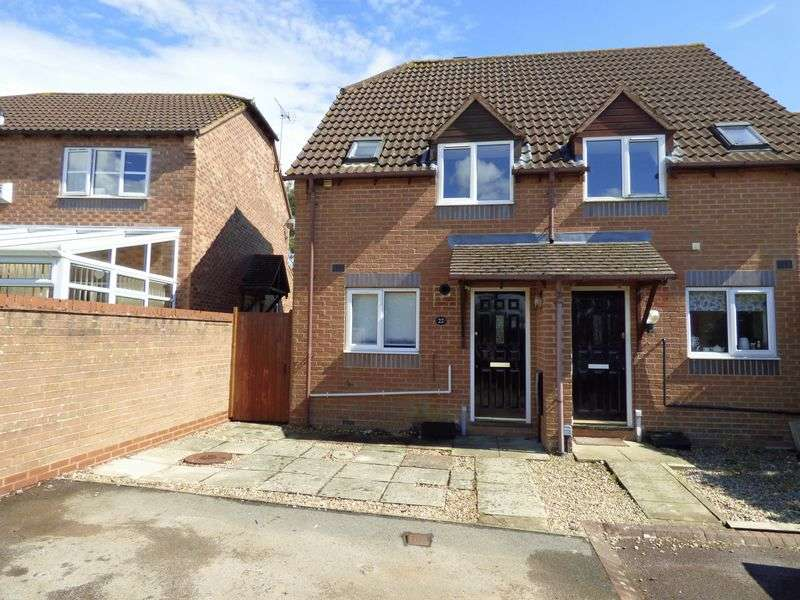 2 Bedrooms Semi Detached House for sale in Hasfield Close, Gloucester
