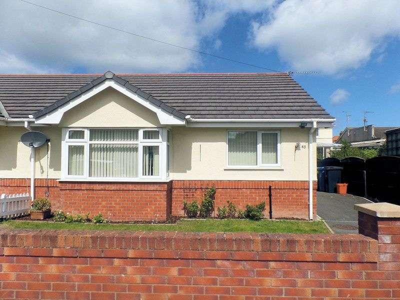 2 Bedrooms Semi Detached Bungalow for sale in Seabank Drive, Prestatyn