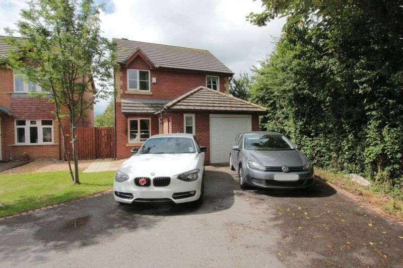 3 Bedrooms Detached House for sale in Lon Y Parc, St. Asaph
