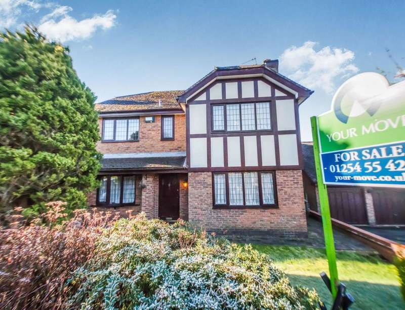 4 Bedrooms Detached House for sale in The Pastures, Blackburn, BB2