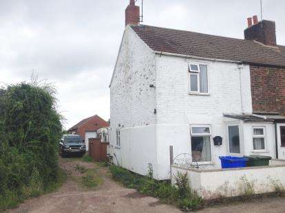 2 Bedrooms End Of Terrace House for sale in Coast Guard Cottages, Moulton Marsh, Spalding
