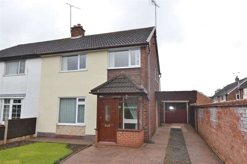 3 Bedrooms Semi Detached House for sale in Sherwood Avenue, Stafford