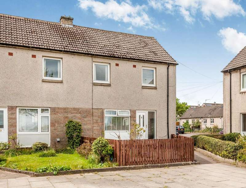 3 Bedrooms Semi Detached House for sale in Sherwood View, Bonnyrigg, EH19